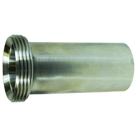 15AHT Threaded Bevel Seat Tygon Hose Adapters-Sanitary Fittings-Gorman & Smith Beverage Equipment