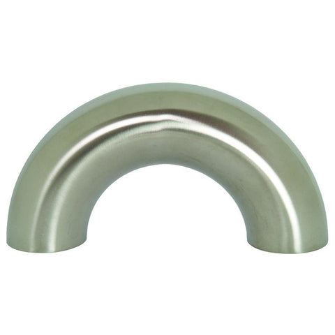 B2WUL Polished Weld 180° Return Bends-Sanitary Fittings-Gorman & Smith Beverage Equipment