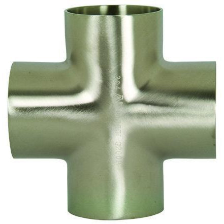 B9WWWW Polished Weld Crosses-Sanitary Fittings-Gorman & Smith Beverage Equipment