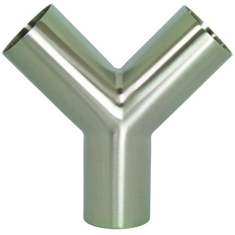 Polished Weld True Wyes-Sanitary Fittings-Gorman & Smith Beverage Equipment