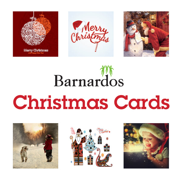 Barnardos Christmas Cards - Pack of 12