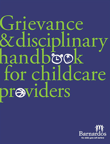 Grievance and Discipline Handbook for Childcare Providers