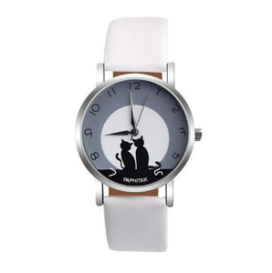 Cute Cat Printed Women Watches