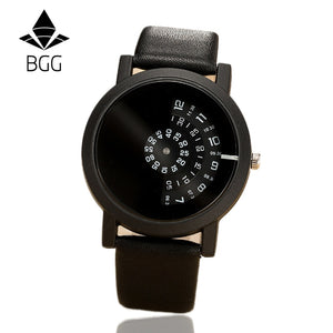wristwatch camera concept brief simple special digital discs hands fashion quartz watches for men women