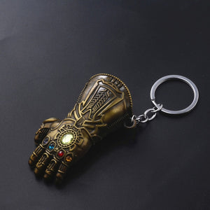 Marvel Thor Hammer Keychain Avengers Thor Weapon Enamel Keychain For Keys Men Car Women Bag Accessories