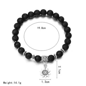 Fashion Beaded Women Men Bracelets Simple Classic Round Bead Charm Bracelets & Bangles For Men Handmade Accessories Gift