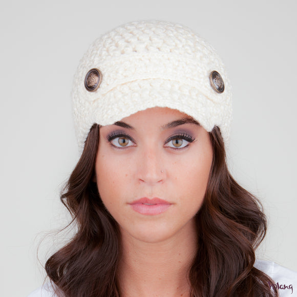 Scooter Hat in Cream