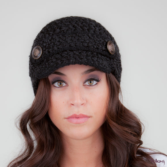Scooter Hat in Black