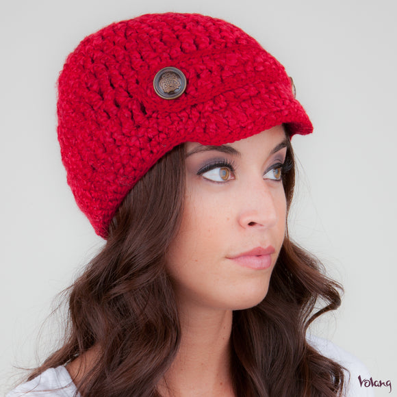 Scooter Hat in Red