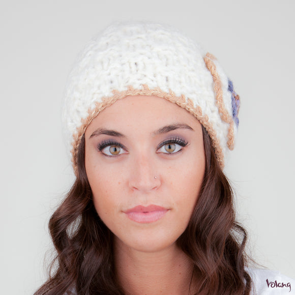 Katie Hat in White