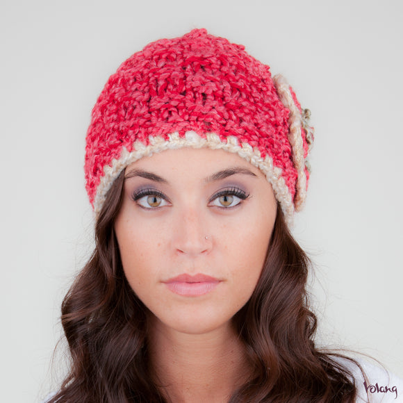 Katie Hat in Coral