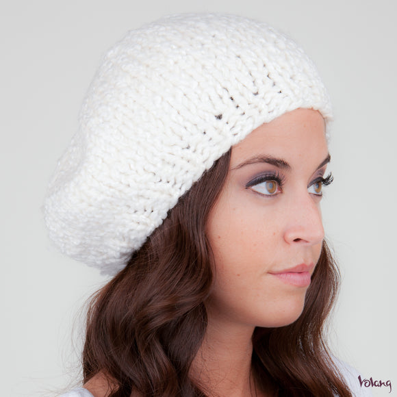 Beret Hat  in White