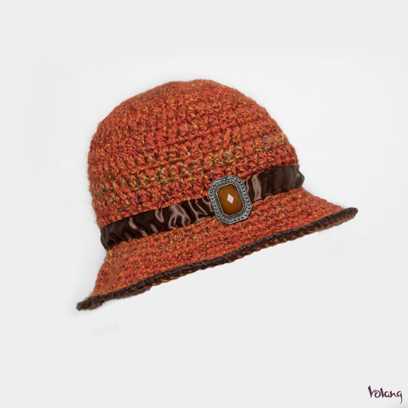 Sunday Hat in Orange