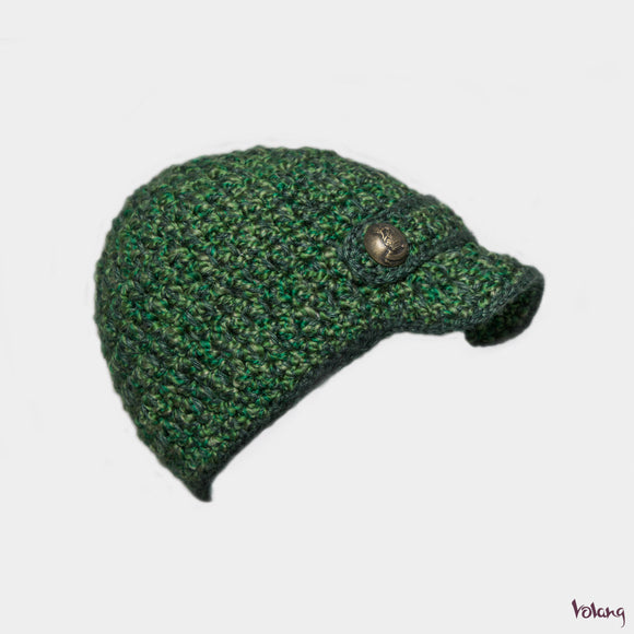 Scooter Hat in Green