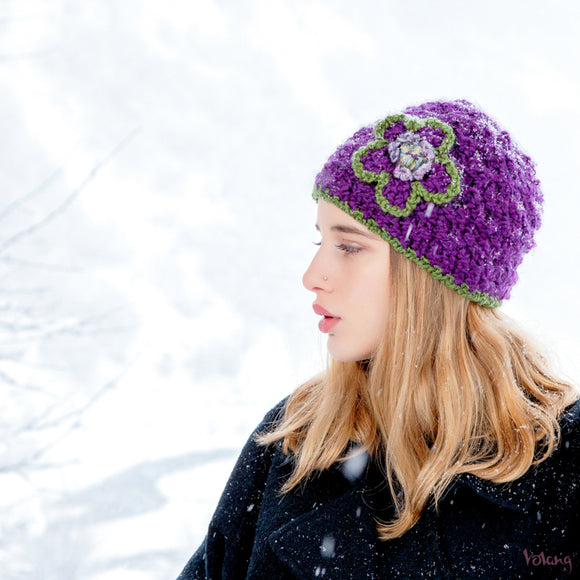 Katie Hat in Purple