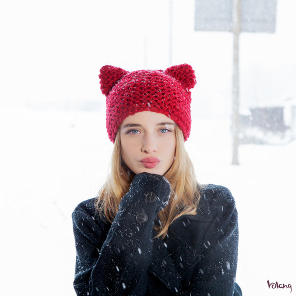 Cat Hat in Red