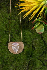 Copy of Long Necklace with White Seashell