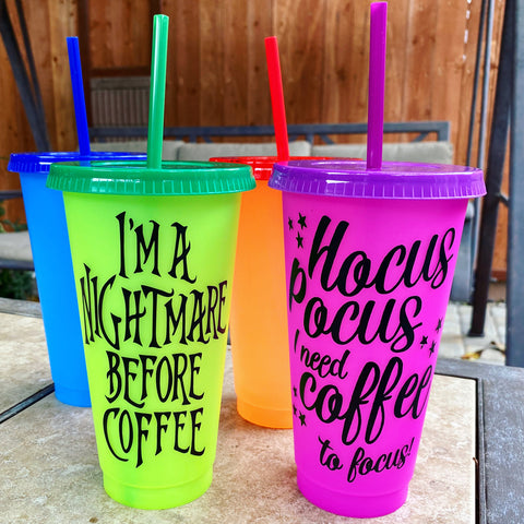 Color Cups: Pick Your Design