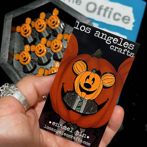 Dwight Mouse Pumpkin Pin!