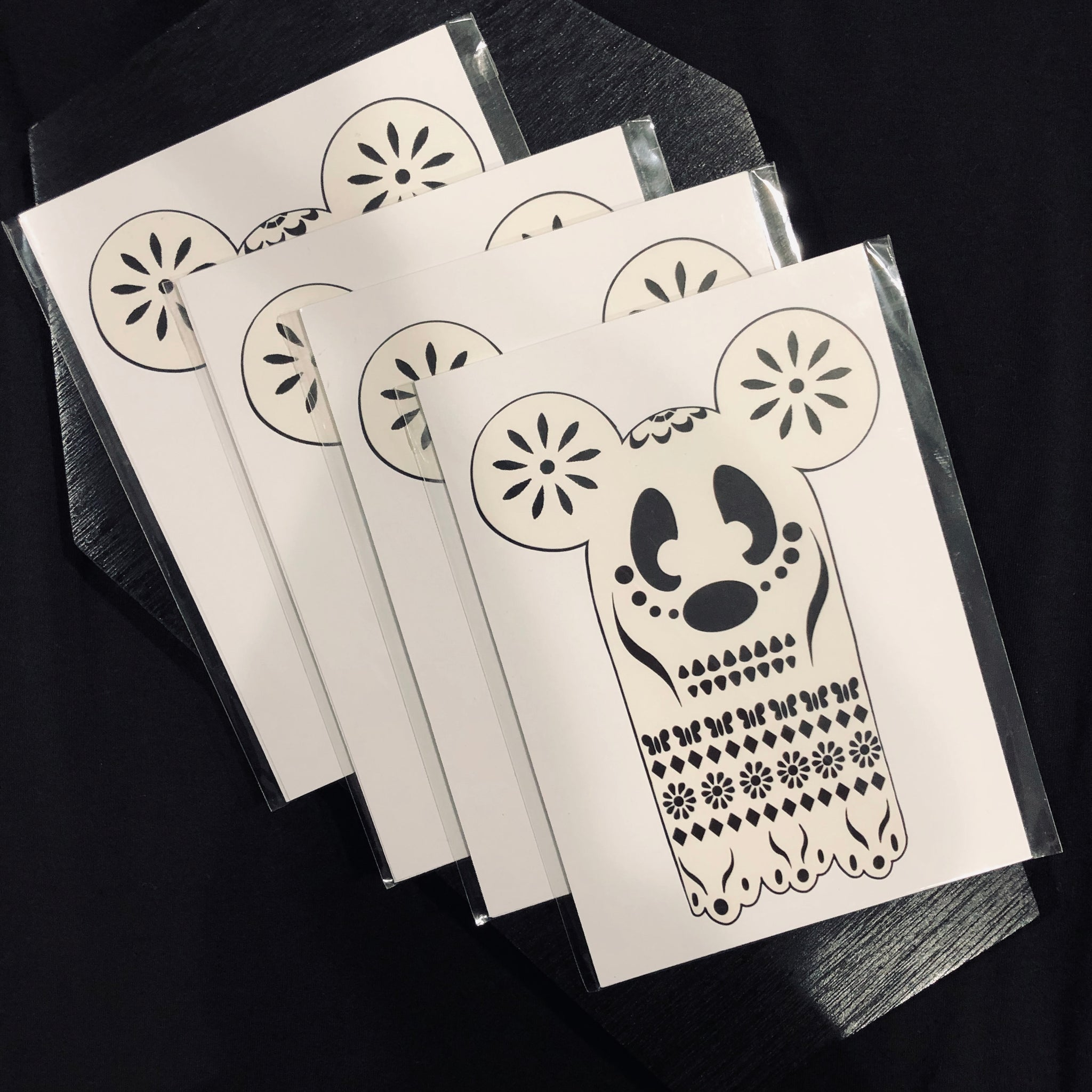 Papel Picado Mickey - Art Print