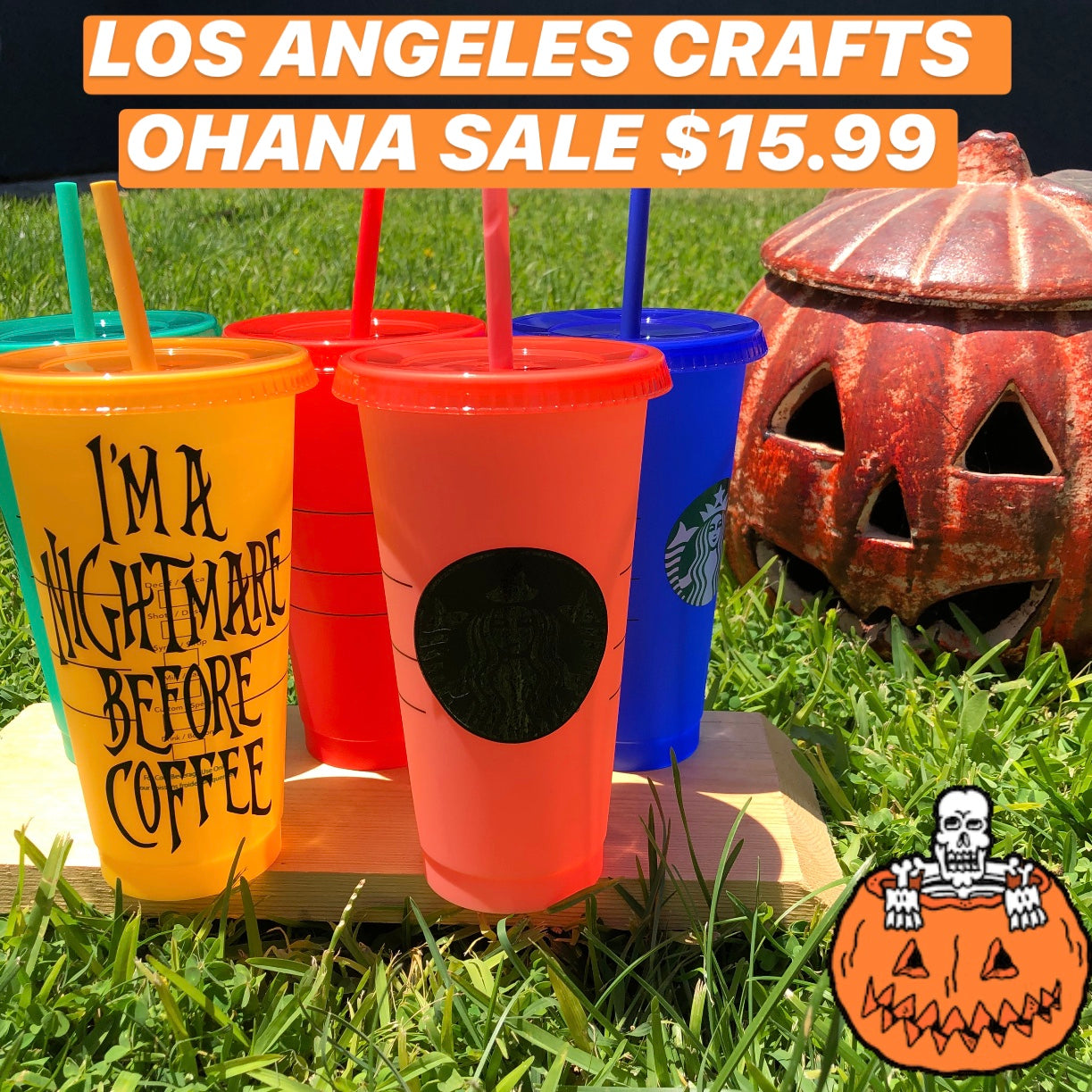 OHANA SALE SB Color Changing Cups
