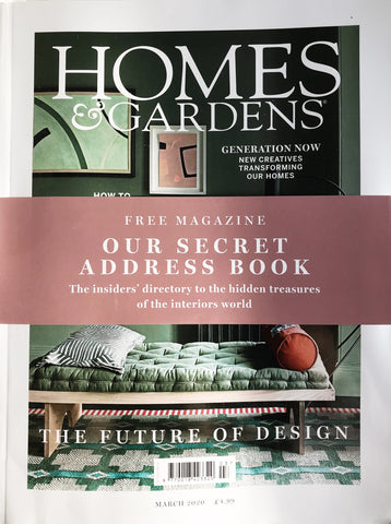 Homes and Garden feature the Haines Collection leftover fabric
