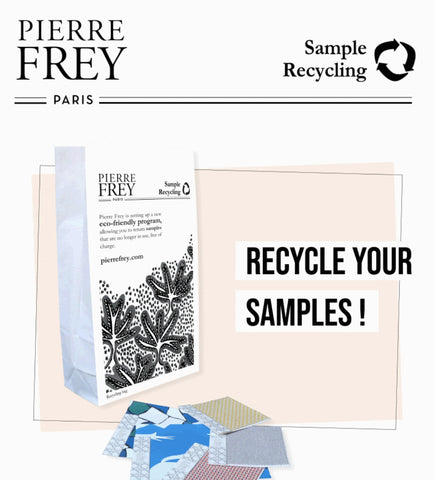 Pierre Frey Recycle Samples to Reduce Textile Waste