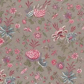 Les Olivades Boutis - Grey and Pink