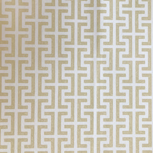 Veere Grenney Temple Wallpaper Extra Wide - Straw