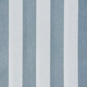 Cabbages and Roses Stripe - Blue