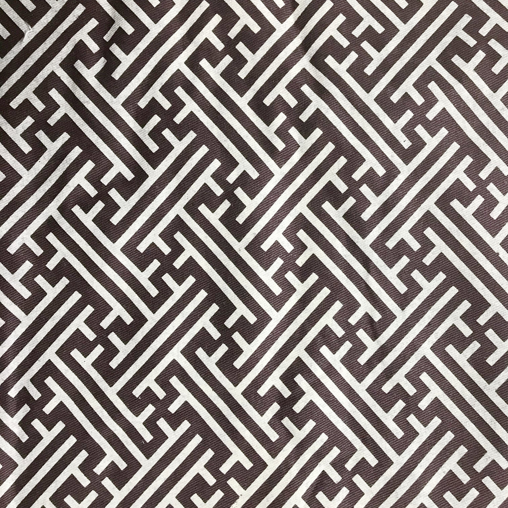 Korla Bhutan Lattice - Cream and Brown