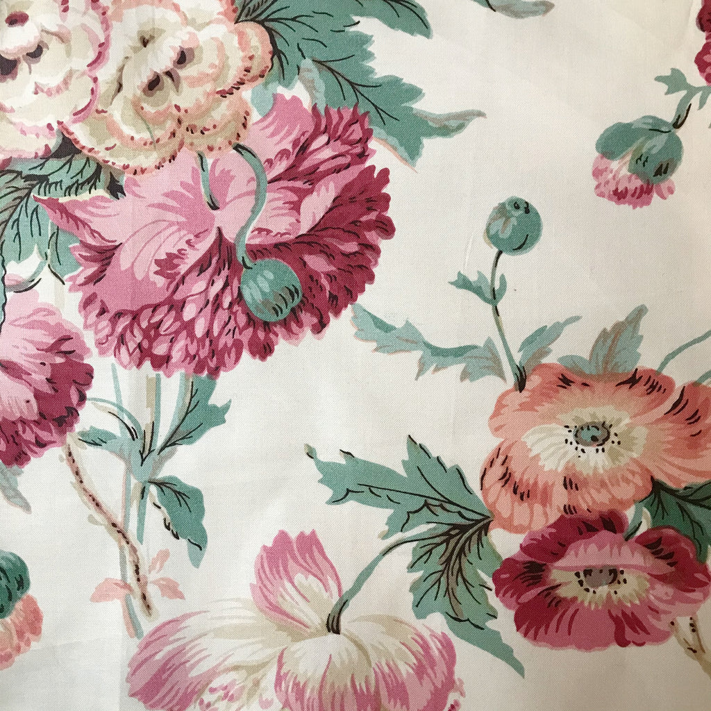 Sophie Meade-Fetherstonhaugh Poppy Chintz - Pink and Red