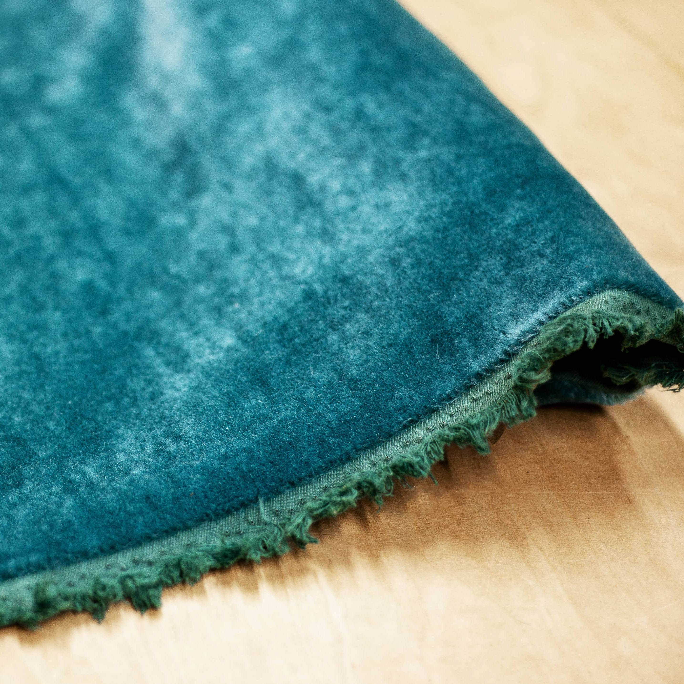 George Smith Mohair Velvet - Jade
