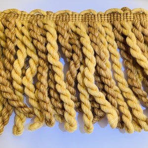 Yellow and Gold Bullion Fringe