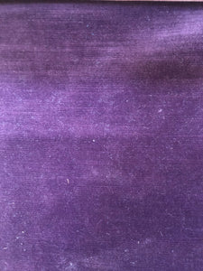 Rich Plain Velvet - Purple
