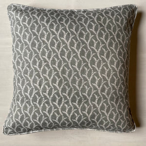 Nicole Fabre Vasion Cushion - Grey
