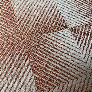 Lelievre Hypnose Fabric - Burnt Orange