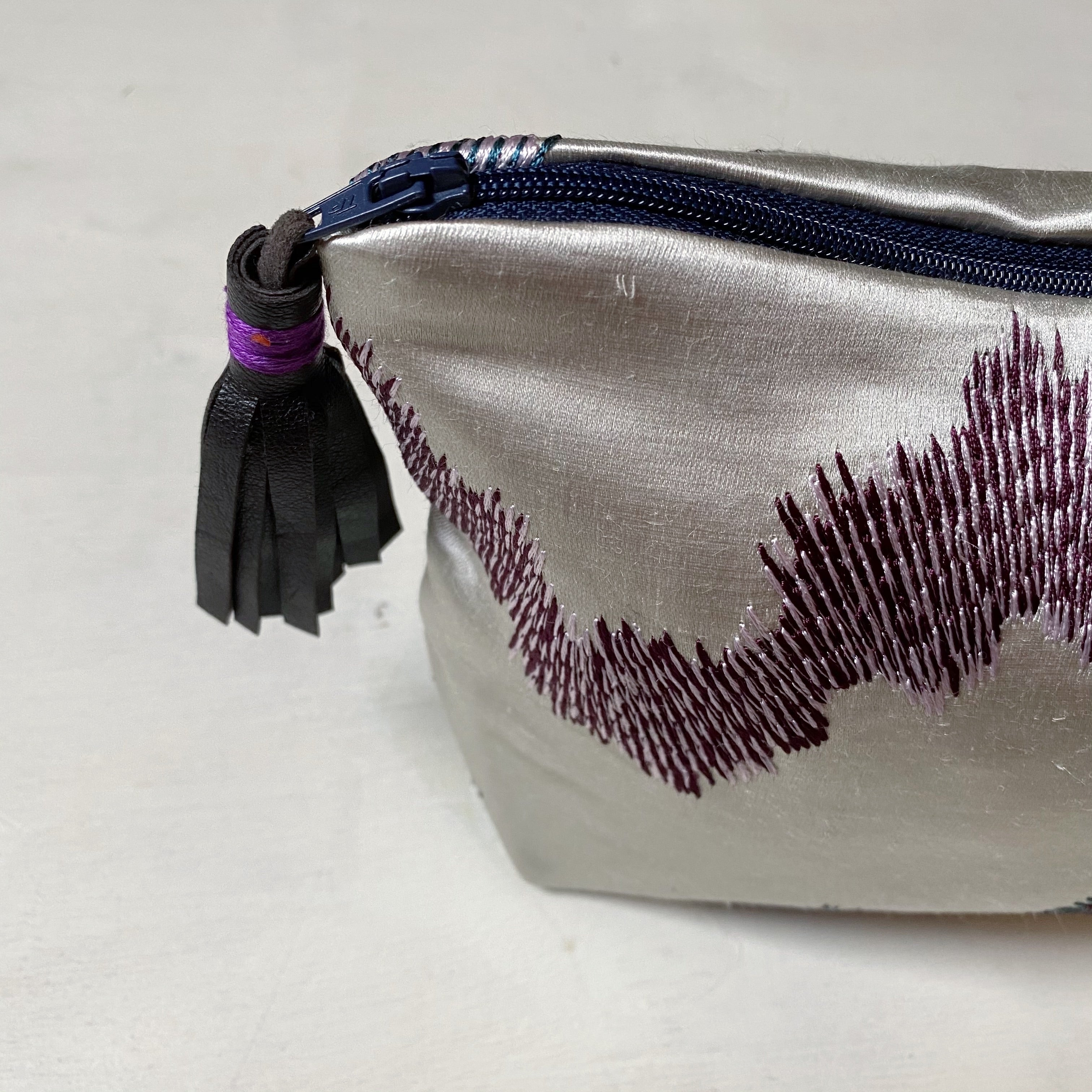 Silk Zip Bag - Small