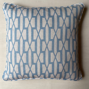 Veere Grenney Belvedere Cushion - Pale Blue