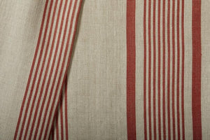 Madeaux Salina Stripe - Red Earth