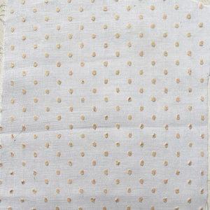 Sophie Meade-Fetherstonhaugh Tiny Spot Muslin Voile - Yellow