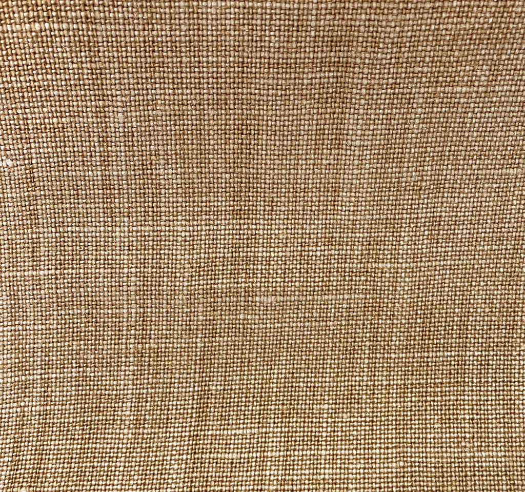 Heavy Plain Linen - Tobacco