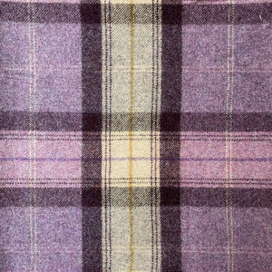 Sanderson Wool Check - Purple and Green