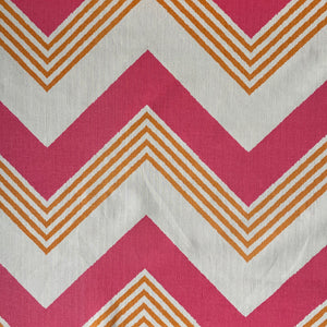 Korla Grand Zig Zag - Pink and Orange