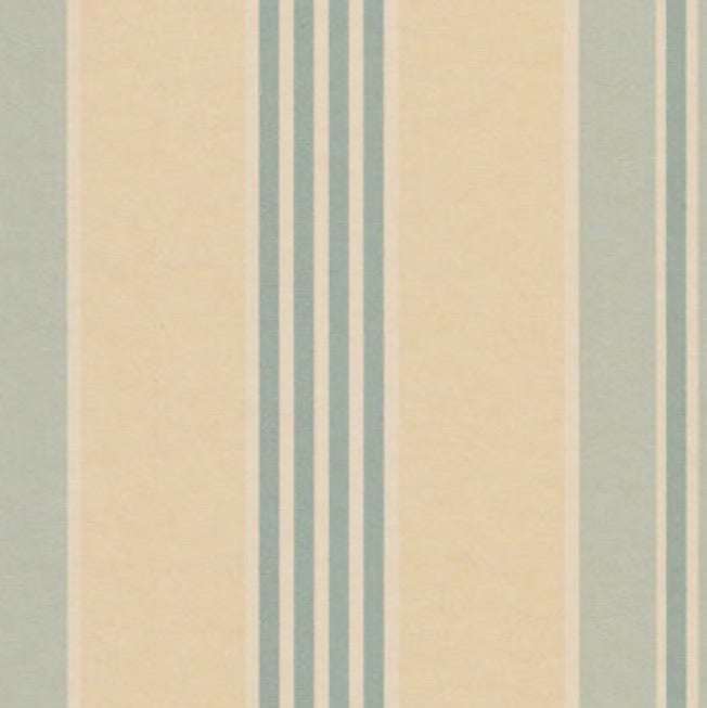 Lewis and Wood Pimlico Stripe Wallpaper - Aqua
