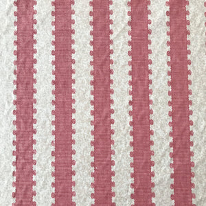 Nina Campbell Picot Stripe - Red