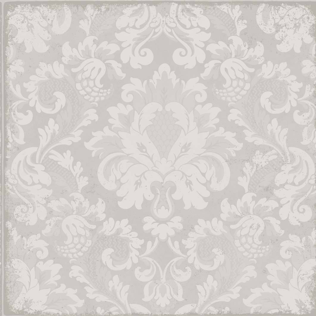 Antique Light Grey & White