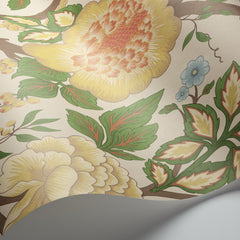 Rouge/Leaf Green on Parchment