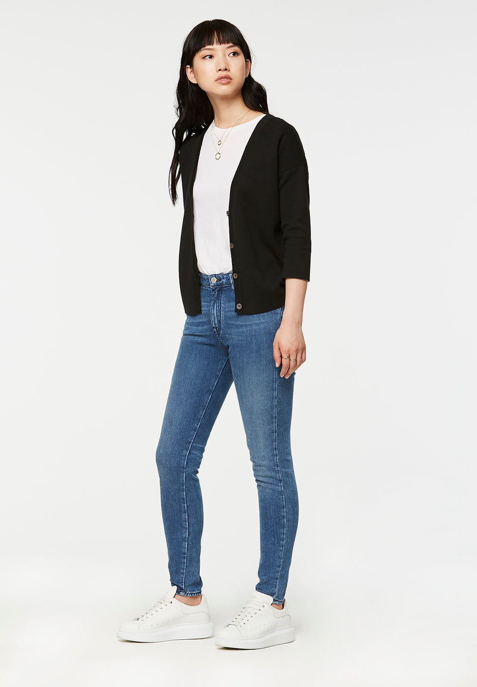 Arlette Cardigan in Black
