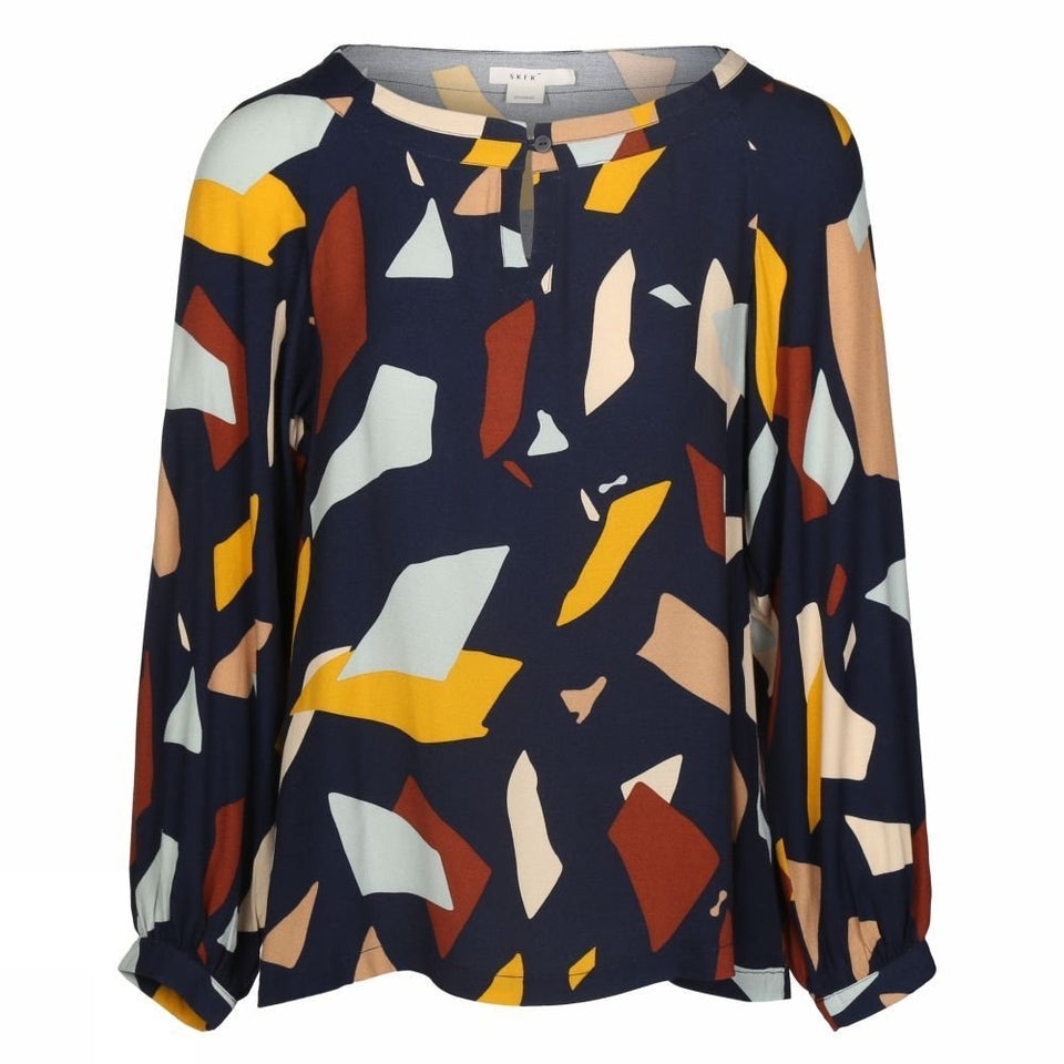 Ixe Shirt in Multicolor Print